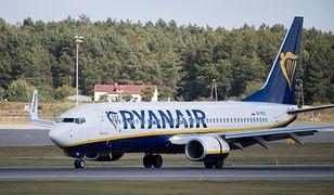 Trzy samoloty Ryanair zostały wycofane