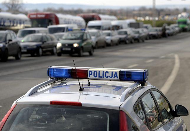 W miejscowości Dobrosielice na drodze krajowej nr 10 zderzyły się dwie ciężarówki.