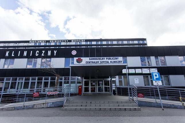 Warszawa. Szpital potwierdził, że w poniedziałek doszło do awarii systemu