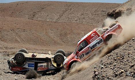 30. Rajd Dakar: Sonik trzeci, Hołowczyc piąty
