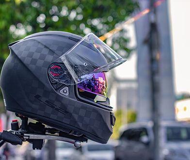 Kask jest najważniejszym elementem wyposażenia motocyklisty