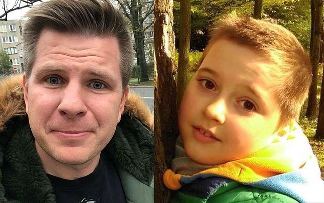 Filip Chajzer, zaapelował o rejestrowanie się dawców szpiku dla 9-letniego Karola.