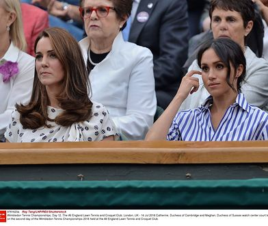 Konflikt księżnej Meghan i księżnej Kate wydaje się nakręcany przez media