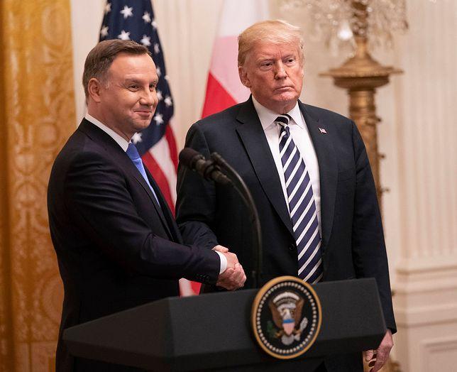 """""""Trump może wycofać wojska z Polski"""". Przerażająca wizja niemieckiego tygodnika"""