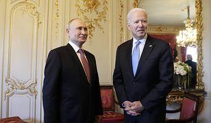 """Biden zdradził, o czym rozmawiał z Putinem. """"Powiedziałem to jasno"""""""