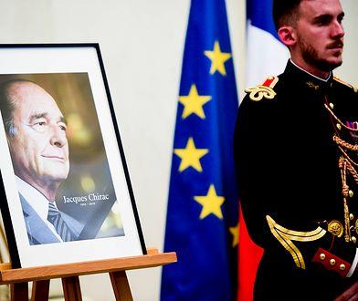 W Pałacu Elizejskim wystawiono księgę kondolencyjną poświęconą pamięci byłego prezydenta Jacques'a Chiraca