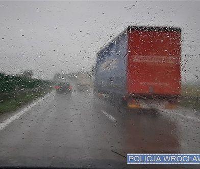 Wrocław. Wypadek na autostradzie A4. Utrudnienia na trasie z Legnicy