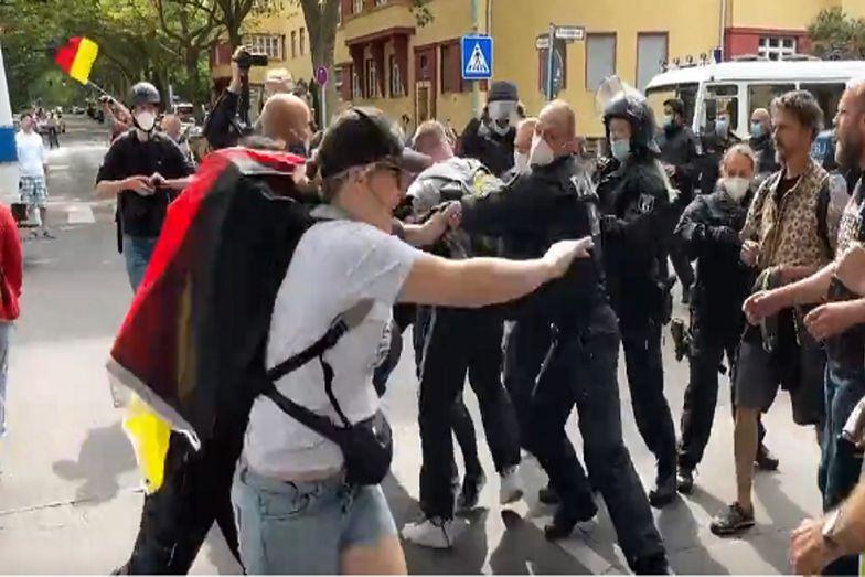Fala protestów w Berlinie. Ponad 600 aresztowanych