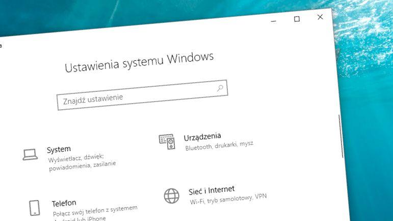Kwietniowa aktualizacja Windows 10: nowości w panelu ustawień systemu