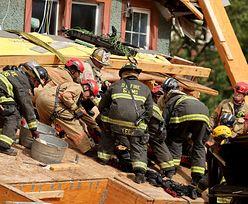 Kolejna katastrofa budowlana w USA. Mężczyzna przygnieciony trzema piętrami budynku