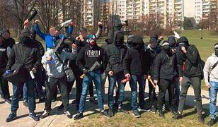 Zdjęcie zamieszczone na profilu kiboli Wisły Kraków