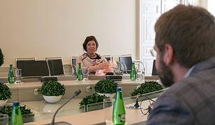 Estonia: noworodek na posiedzeniu rządu