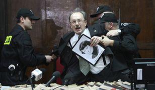 Protest w sądzie