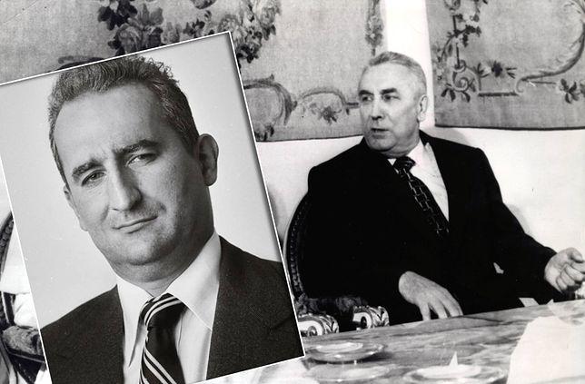 Michał Koterski i Edward Gierek