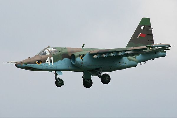 Białoruski Su-25