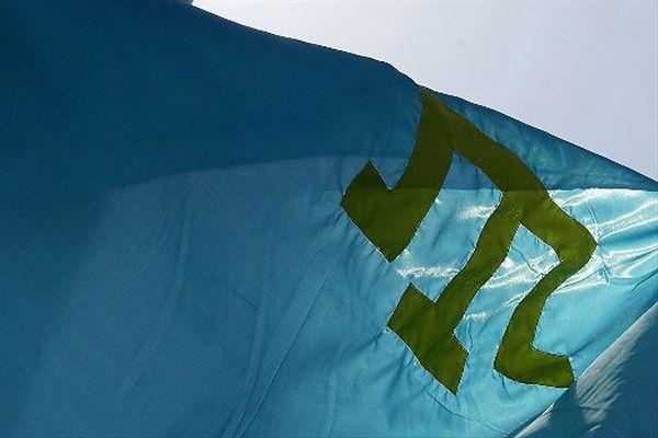 Flaga Tatarów krymskich