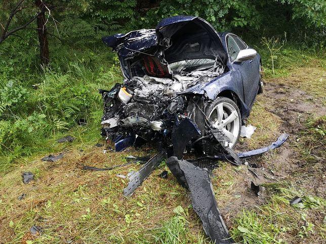 Tragiczny wypadek na Podkarpaciu. 37-letni kierowca usłyszał zarzuty