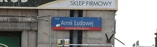 Al. Lecha Kaczyńskiego zamiast al. Armii Ludowej. 50 warszawskich ulic zmieni nazwę po dekomunizacji