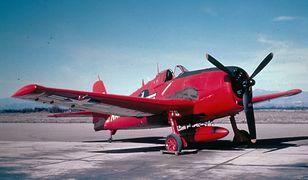 Dron Grumman F6F-5K - myśliwiec z II wojny przerobiony na latający cel
