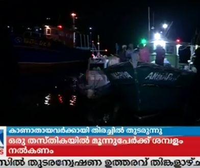 Uratowano 16 marynarzy, na pokładzie było 26 osób