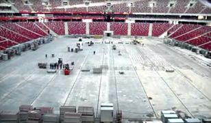 Niesamowity film ze Stadionu Narodowego [WIDEO]