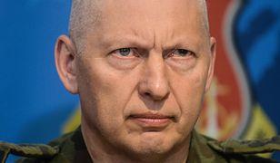 Gen. broni Mirosław Różański w grudniu 2016 r.