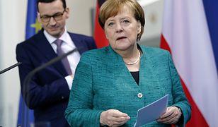 Kanclerz Merkel rozmawiała z premierem  Morawieckim w Berlinie