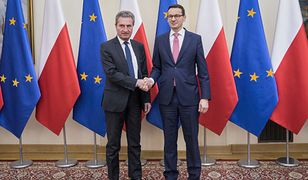 Guenther Oettinger i Mateusz Morawiecki
