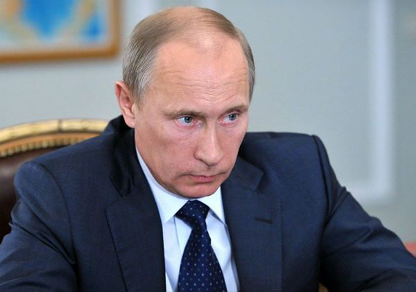 Władimir Putin zdenerwował się na Ukrainę