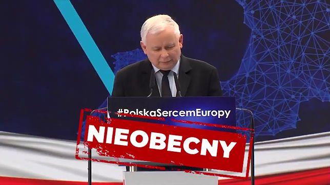 Strajk nauczycieli 2019. Prezes PiS Jarosław Kaczyński w spocie Koalicji Europejskiej.