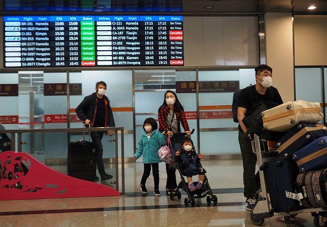 Koronawirus z Chin. Na Tajwanie zmarła pierwsza ofiara wirusa. Liczba zarażonych wzrosła do 20