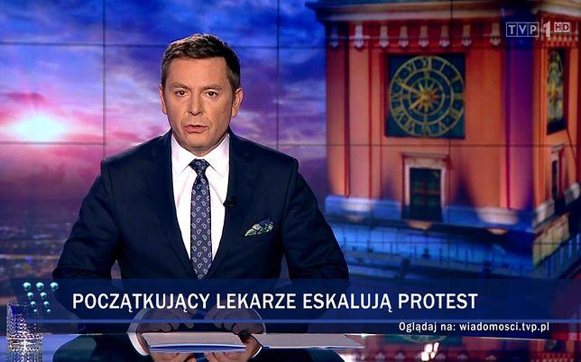 """Kolejny kontrowersyjny materiał """"Wiadomości"""" TVP"""