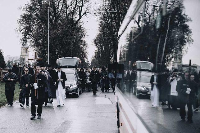 Konin, pogrzeb Adama C. Zdjęcie: Daniel Gnap.