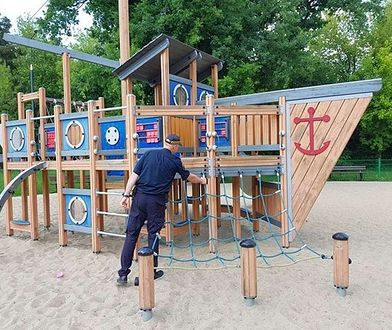 Strażnicy sprawdzili warszawskie place zabaw. Ponad 200 zastrzeżeń, likwidacja 37 obiektów