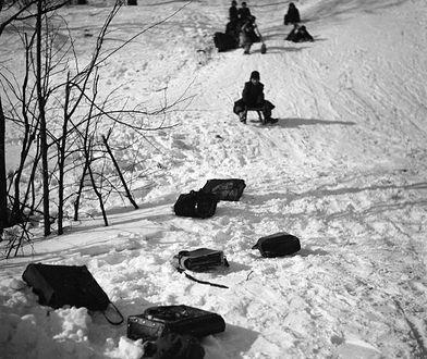 To były zimy! Dawna Warszawa pod śniegiem [ZDJĘCIA]