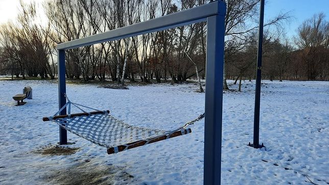 Plac zabaw dla dorosłych powstał w Parku Reagana w Gdańsku