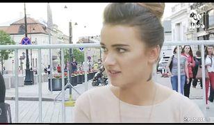 Śliczna Julia Kuczyńska na Warsaw Fashion Street!