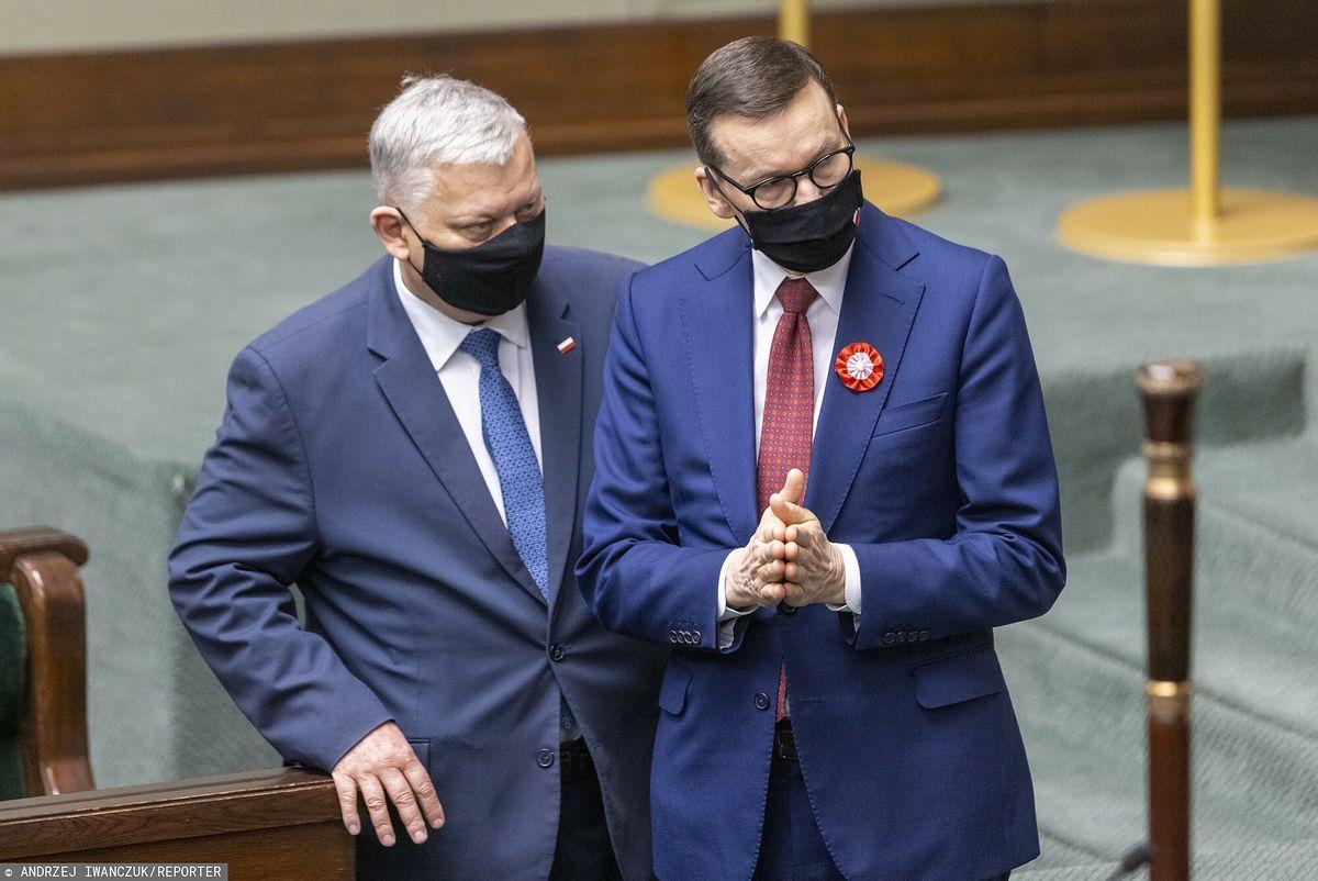 """Morawiecki odniósł się do wypowiedzi Suskiego o """"brukselskim okupancie"""""""