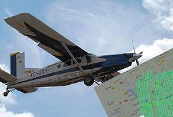 Tajemniczy samolot nad Poznaniem. Mieszkańcy nie mogą wyjść z podziwu