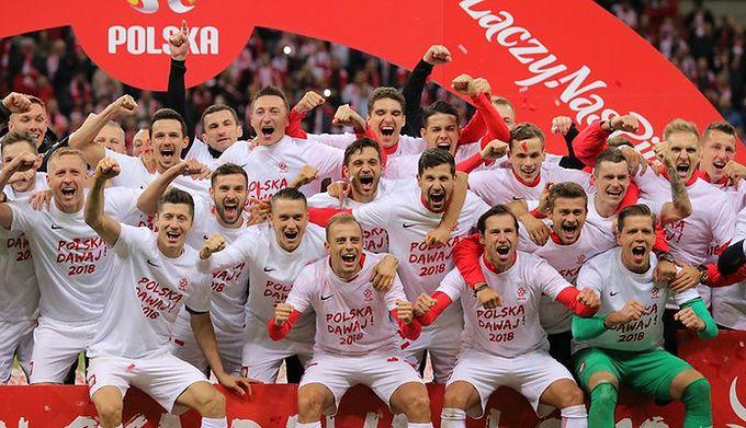 65598f25244b WP SportoweFakty   Mateusz Czarnecki   Na zdjęciu  piłkarze reprezentacji  Polski
