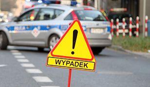 Mazowieckie. Zderzenie naS8. Zablokowany pas w kierunku Warszawy
