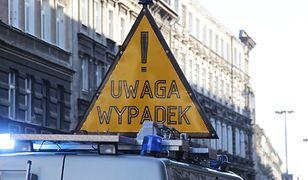 Warszawa. Na S2 zderzyło się pięć samochodów. Tworzą się korki