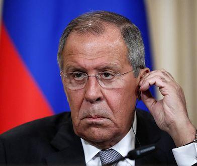 Siergiej Ławrow, minister spraw zagranicznych Rosji.