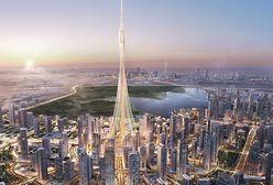W Dubaju rośnie spektakularny wieżowiec. Będzie najwyższym budynkiem świata