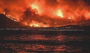 """""""Gdy dotarliśmy na miejsce, ogień szalał i trawił kurort. Ludzie uciekali w popłochu, a tych co utknęli na plaży, ewakuowano łodziami"""" - mówi pani Sylwia, mieszkanka Pireusu."""