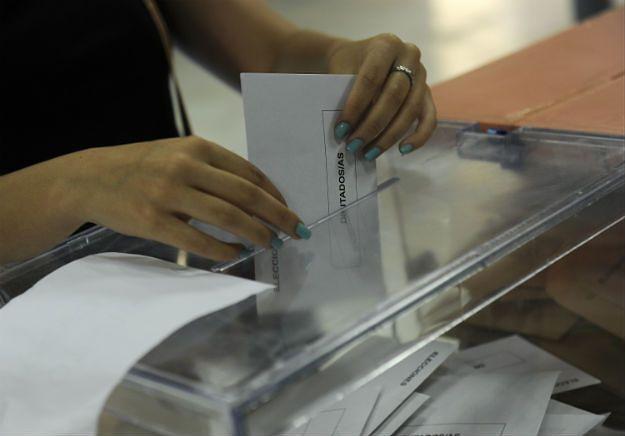 Głosowanie w Hiszpanii