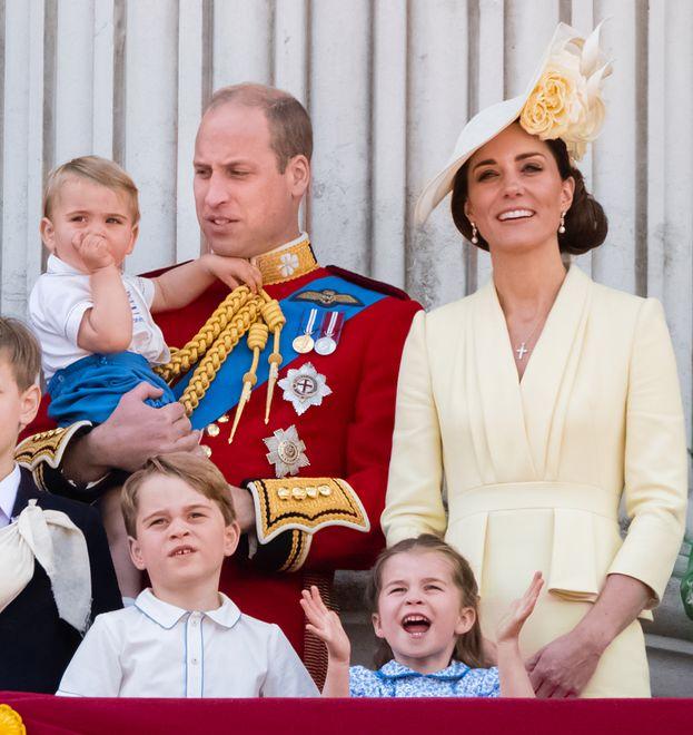 Rodzina księcia Williama w komplecie.