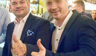 Zenon Martyniuk z synem