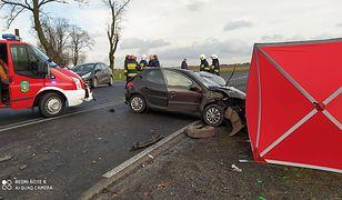 Tragiczny wypadek na DK36 koło Rawicza. Nie żyje mężczyzna