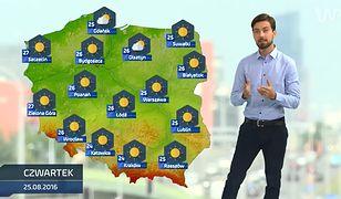 Prognoza pogody na 25 sierpnia (plus dwa kolejne dni)